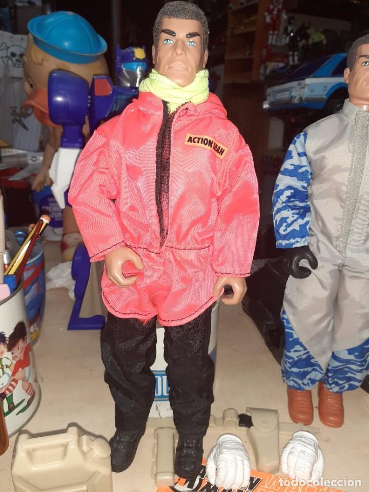 Action man: Lote Action Man Hasbro años 90.Material y complementos con 2 muñecos.Nuevos,procedentes de tienda. - Foto 2 - 217974187