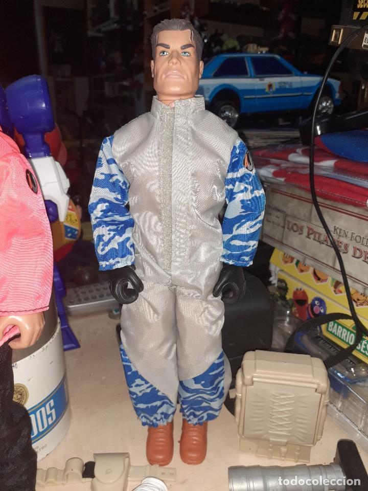 Action man: Lote Action Man Hasbro años 90.Material y complementos con 2 muñecos.Nuevos,procedentes de tienda. - Foto 3 - 217974187