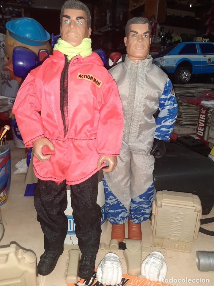 Action man: Lote Action Man Hasbro años 90.Material y complementos con 2 muñecos.Nuevos,procedentes de tienda. - Foto 9 - 217974187