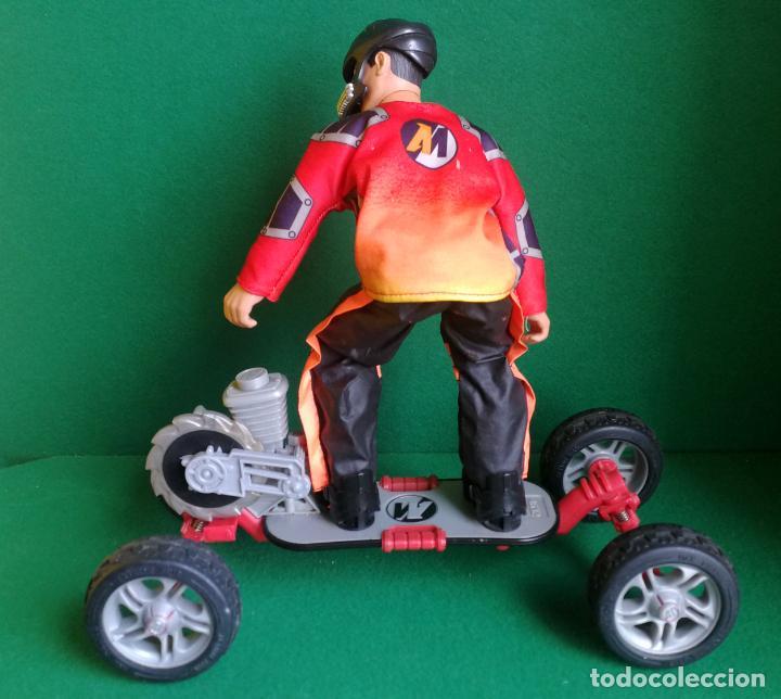 Action man: ACTION MAN HASBRO - AM 1993 - SKATEBOARD EXTREME CON SKATER - BUENO Y FUNCIONANDO - Foto 2 - 218525333