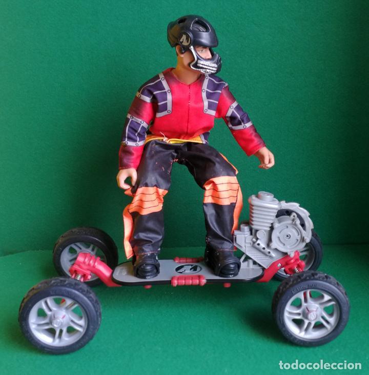 ACTION MAN HASBRO - AM 1993 - SKATEBOARD EXTREME CON SKATER - BUENO Y FUNCIONANDO (Juguetes - Figuras de Acción - Action Man)