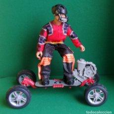Action man: ACTION MAN HASBRO - AM 1993 - SKATEBOARD EXTREME CON SKATER - BUENO Y FUNCIONANDO - NO MADELMAN. Lote 218525333