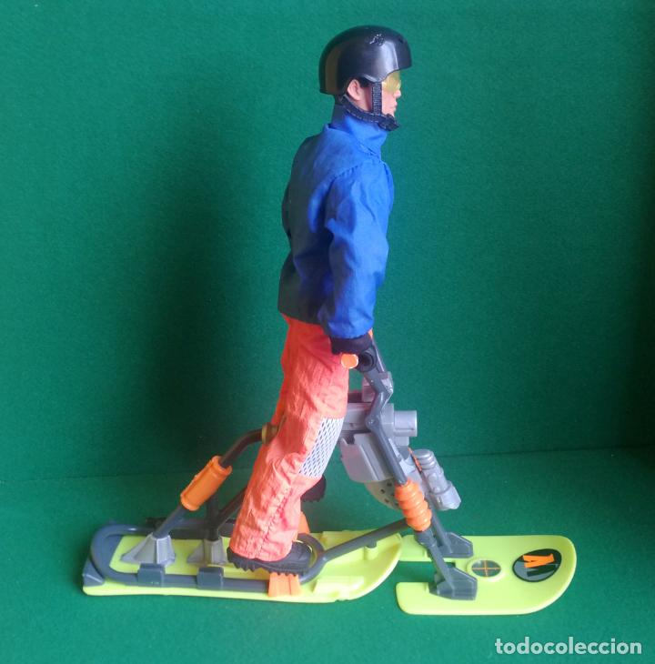Action man: ACTION MAN HASBRO - AM 1996 - ARTIC SURF BIKE - BUENO Y FUNCIONANDO - Foto 2 - 218605088