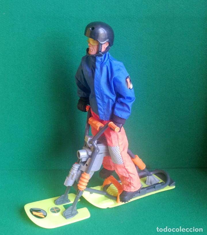 ACTION MAN HASBRO - AM 1996 - ARTIC SURF BIKE - BUENO Y FUNCIONANDO (Juguetes - Figuras de Acción - Action Man)