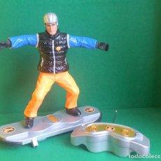 Action man: ACTION MAN HASBRO - SKATER RADIO CONTROL WOW WEE - FUNCIONANDO PERFECTAMENTE - NO MADELMAN. Lote 218630621