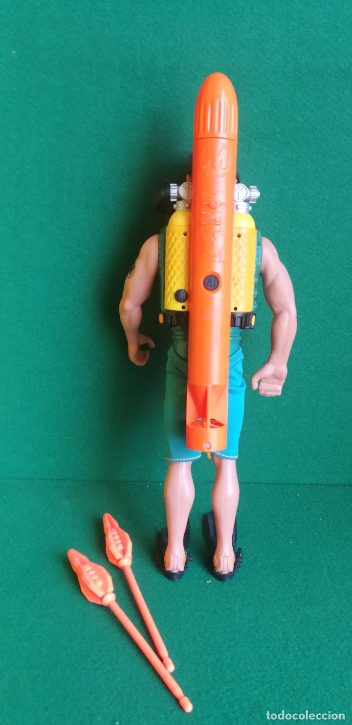 Action man: ACTION MAN HASBRO - AM 1999 - SUBMARINISTA HOMBRE RANA + TORPEDO - NO MADELMAN - Foto 2 - 218512578