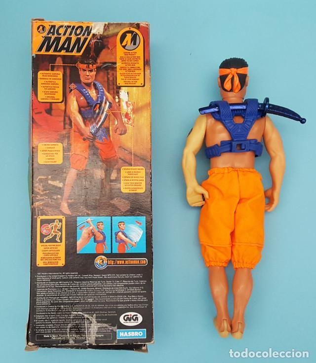 Action man: ACTION MAN SUPER SAMURAI HASBRO CON CAJA Y CATALOGO - Foto 2 - 219010531