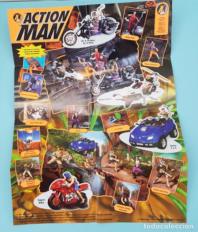 Action man: ACTION MAN SUPER SAMURAI HASBRO CON CAJA Y CATALOGO - Foto 4 - 219010531
