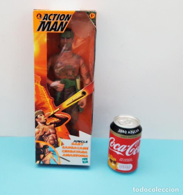 Action man: ACTION MAN JUNGLE DART CERBATANA SARBACANE AMAZZONIA HASBRO CON CAJA Y CATALOGO - Foto 5 - 219011323