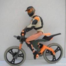 Action man: ACTION MAN EN BICICLETA - BIKE EXTREME - HASBRO 1999. Lote 220720775