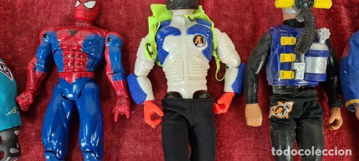 Action man: COLECCION DE 7 MUÑECOS DE ACTION MAN HASBRO Y SPIDER MAN DE MARVEL. CIRCA 1990. - Foto 8 - 221088446