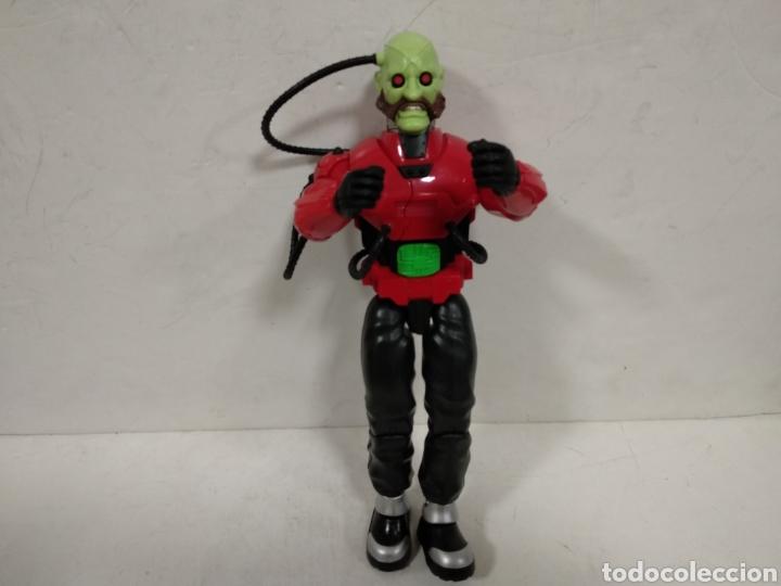 ACTION MAN .DR.X CIBORG CON MECANISMO.2003.FUNCIONA. (Juguetes - Figuras de Acción - Action Man)