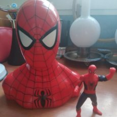 Action man: HUCHA SPIDER-MAN Y MUÑECO. Lote 223808060
