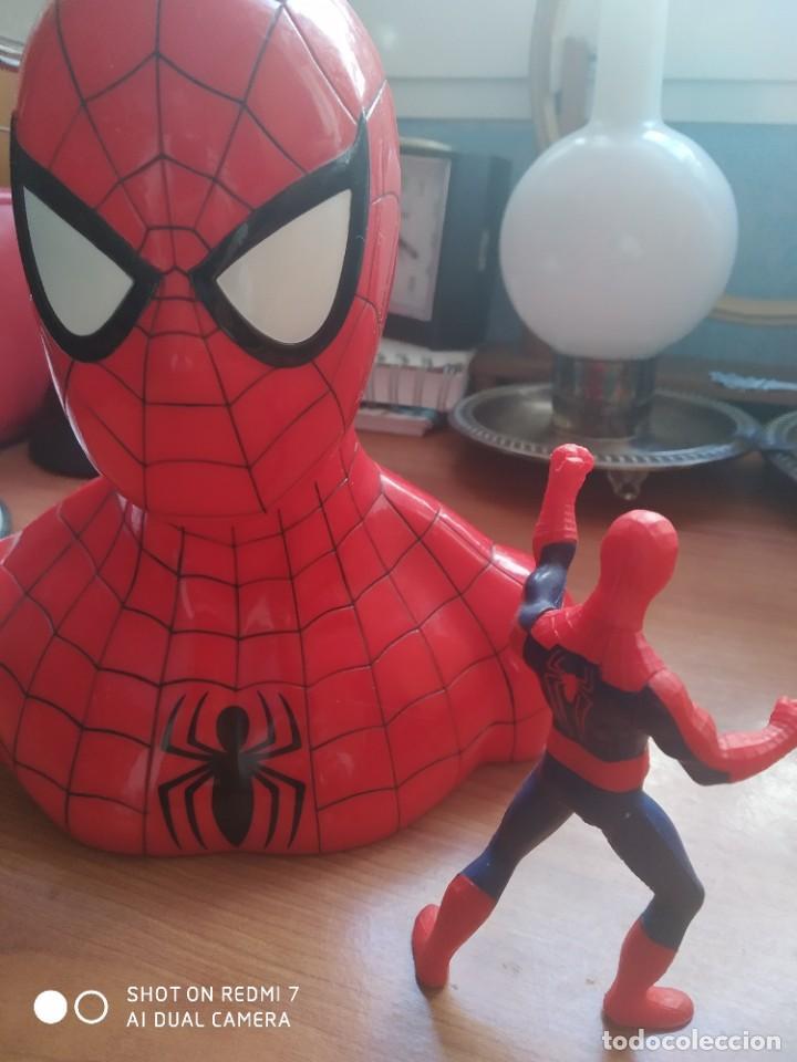 Action man: Hucha Spider-Man y muñeco - Foto 2 - 223808060