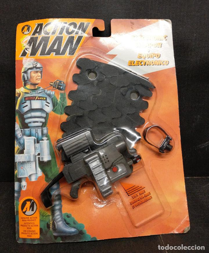 ACCIÓN MAN EQUIPO ELECTRÓNICO DE HASBRO 1994 (Juguetes - Figuras de Acción - Action Man)
