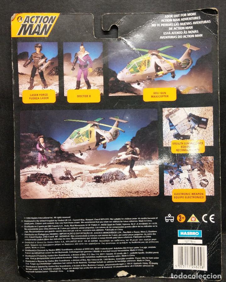 Action man: acción man equipo electrónico de hasbro 1994 - Foto 2 - 225803797