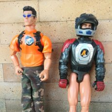 Action man: LOTE 2 MUÑECOS ACTION MAN 1999 - 2004. Lote 225876425