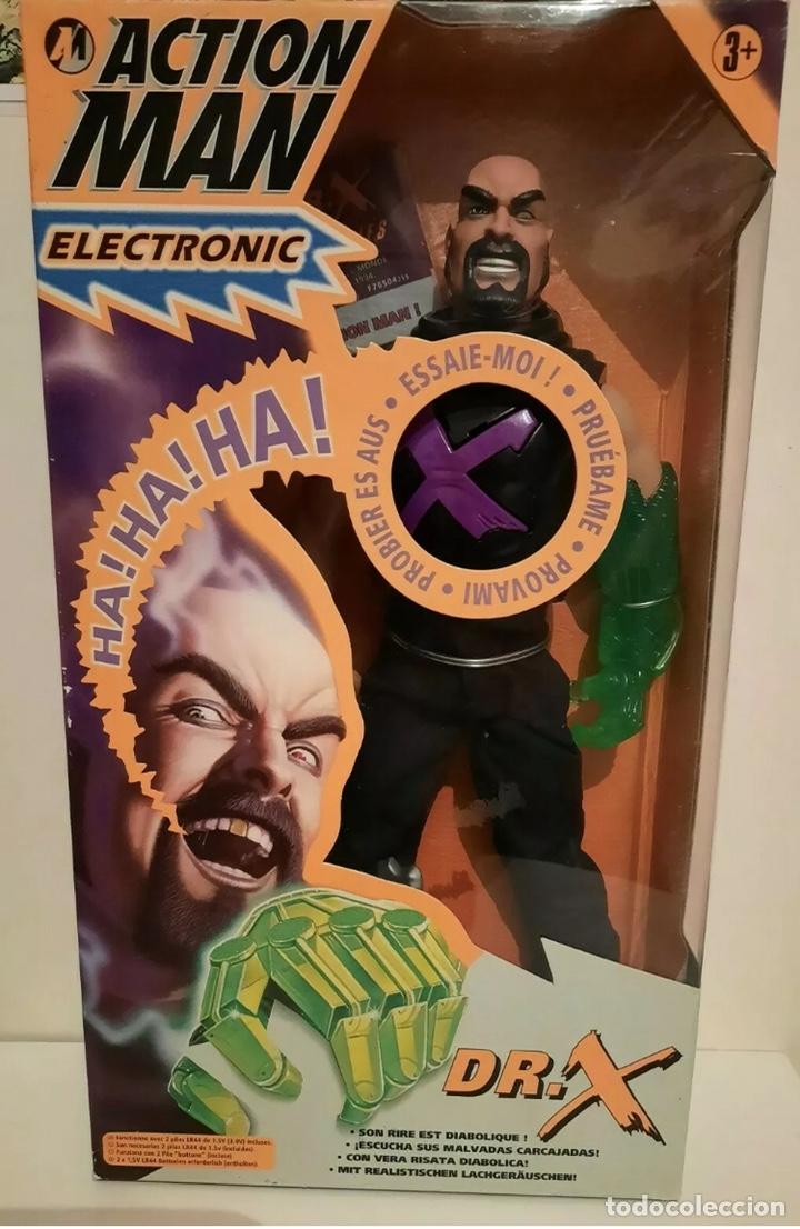 FIGURA ACTION MAN - DOCTOR DR. X - HASBRO - NUEVO A ESTRENAR - (MADELMAN LEGO VINTAGE) (Juguetes - Figuras de Acción - Action Man)