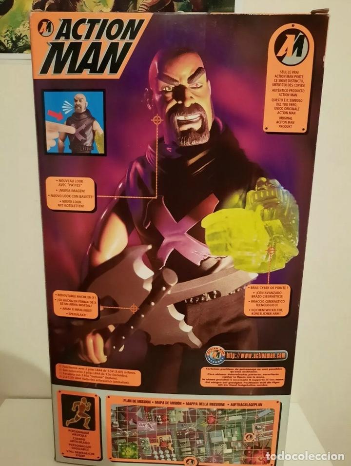 Action man: Figura Action Man - Doctor Dr. X - Hasbro - nuevo a estrenar - (madelman lego vintage) - Foto 3 - 217240217