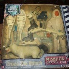 Action man: MUÑECO EN CAJA MISSION LOGITOYS CROCODILE ATTACK. Lote 228495787