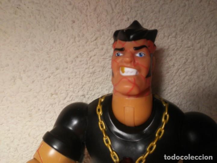 Action man: Figura cyborg galáctico interactivo Paine Atom Action Man Hasbro 2005 Muñeco Juguete - Foto 2 - 240869445