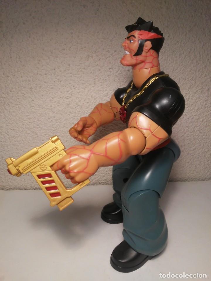 Action man: Figura cyborg galáctico interactivo Paine Atom Action Man Hasbro 2005 Muñeco Juguete - Foto 5 - 240869445