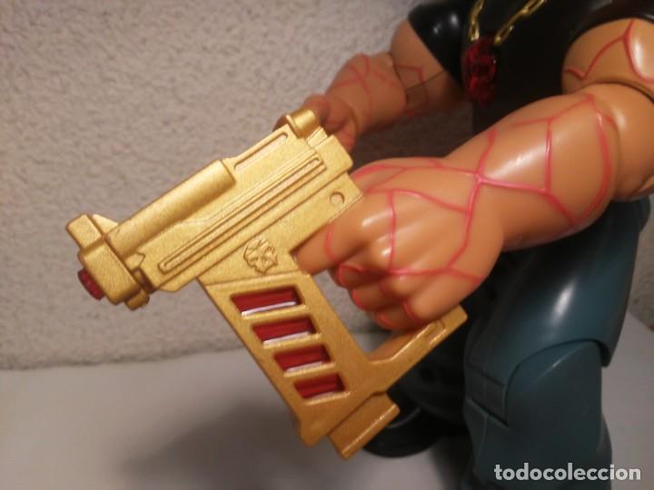 Action man: Figura cyborg galáctico interactivo Paine Atom Action Man Hasbro 2005 Muñeco Juguete - Foto 8 - 240869445
