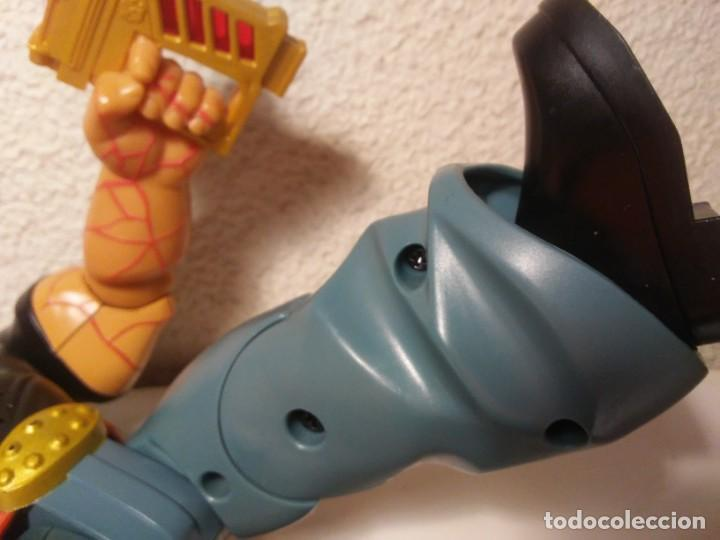 Action man: Figura cyborg galáctico interactivo Paine Atom Action Man Hasbro 2005 Muñeco Juguete - Foto 22 - 240869445