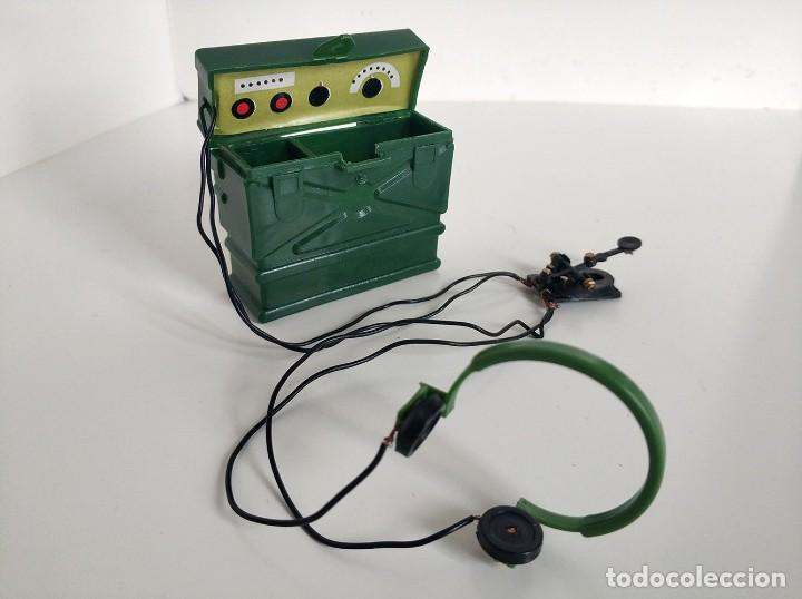 Action man: Antigua radio Morse Action Man - antiguo palitoy - Foto 5 - 241421575
