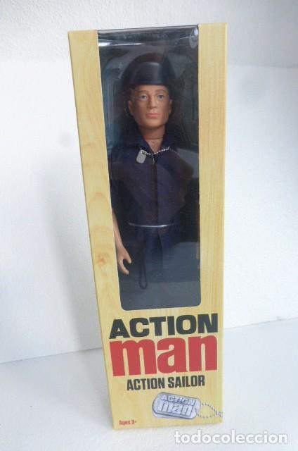 ACTION MAN. REEDICION MODELO SAILOR, DE LOS 70...MARINERO DE ACCION...NUEVO A ESTRENAR, EN CAJA. (Juguetes - Figuras de Acción - Action Man)