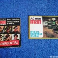 Action man: LOTE DE 2 CATALOGOS O FOLLETOS DE ACTION MAN NO GEYPERMAN. Lote 251789645