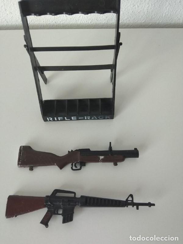 Action man: Rifle rack Action Man armas de juguete figuras 1/6 compatible Geyperman - Foto 2 - 256061465