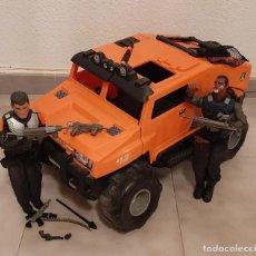 Action man: GRAN VEHICULO CAMION TEAM SUPER TRUCK 1 HUMMER ACTION MAN 2 MUÑECO HASBRO AVENTURA COCHE. Lote 270401763