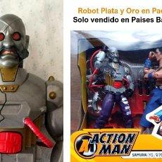 Action man: PARA COLECCIONISTAS , SOLO VENDIDO EN PAISES BAJOS , 2003 , ROBOT PLATA Y ORO DR. X , ACTION MAN. Lote 273932463