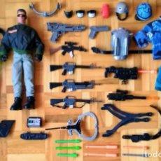 Action man: LOTE ACTION MAN + DR. X + ARMAS , HASBRO , TODO LO QUE SE VE. Lote 277064058