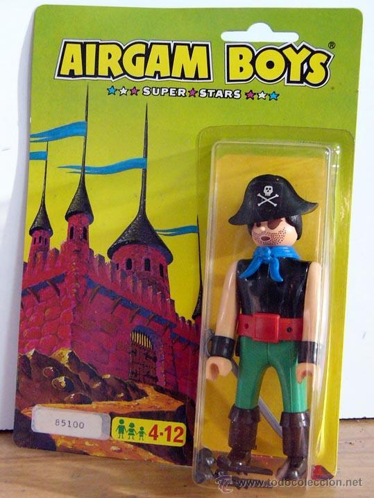 AIRGAM BOYS BLISTER AIRGAMBOYS PIRATA MADE IN SPAIN REF. 85100 (Juguetes - Figuras de Acción - Airgam Boys)