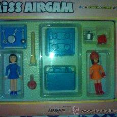 Airgam Boys: MISS AIRGAM DE CAJA ROSA COMPLETA DE ORIGEN DE JUGUETERIA SIN ABRIR. Lote 27133242