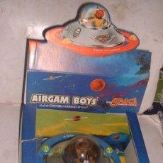 Airgam Boys: AIRGAM BOYS ESPACIO, SPACE, NAVE PLATILLO VOLANTE + MUÑECO, REF. 00293, EN CAJA. CC. Lote 79958877