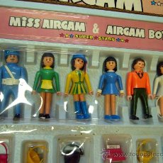 Airgam Boys: CAJA MISS AIRGAM, SUPER STARS, AIRGAM BOYS, SIN USO, CON LAS GRAPAS AUN, 1979,TIENDAS Y COMPLEMENTOS. Lote 29463329