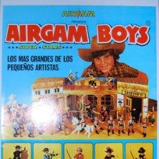 Airgam Boys: HOJA PUBLICIDAD AIRGAMBOYS AIRGAM BOYS. Lote 29493432