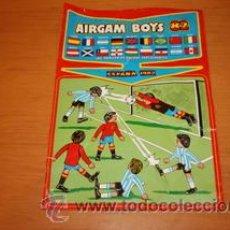 Airgam Boys: AIRGAM BOYS MUNDIAL 82 HOJA PUBLICITARIA. Lote 29694588