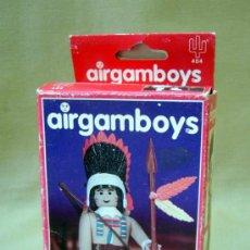 Airgam Boys: MUÑECO ARTICULADO, CLICK, AIRGAMBOYS, INDIO, TORO SENTADO, EN CAJA, REF: 404. Lote 35519531