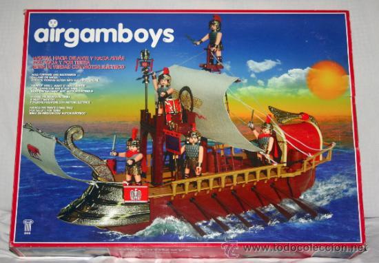 BARCO ROMANO AIRGAMBOYS AIRGAMBOY AIRGAM - NUEVO A ESTRENAR (Juguetes - Figuras de Acción - Airgam Boys)