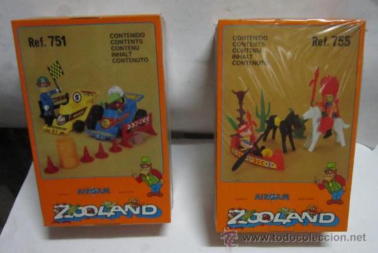 2 AIRGAM BOYS ZOOLAND, REF 751 Y 755, EN CAJA. CC (Juguetes - Figuras de Acción - Airgam Boys)