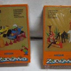 Airgam Boys: 2 AIRGAM BOYS ZOOLAND, REF 751 Y 755, EN CAJA. CC. Lote 35562398