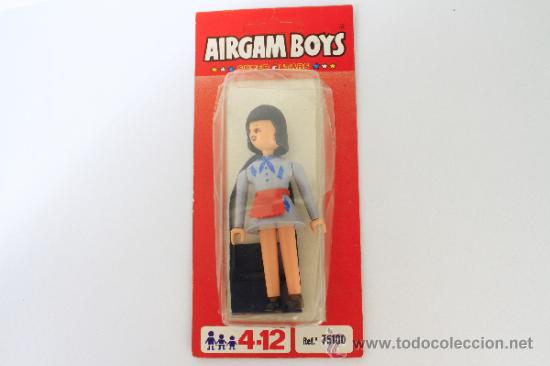 MISS AIRGAMBOYS AMA DE CASA EN CAJA ORIGINAL SIN ABRIR (Juguetes - Figuras de Acción - Airgam Boys)