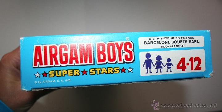 Airgam Boys: CAJA AIRGAMBOYS CANOAS INDIAS - ORIGINAL AÑOS 70, NUEVA A ESTRENAR - Foto 2 - 145521612