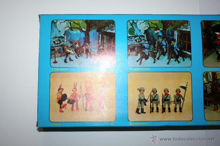 Airgam Boys: CAJA AIRGAMBOYS CANOAS INDIAS - ORIGINAL AÑOS 70, NUEVA A ESTRENAR - Foto 6 - 145521612