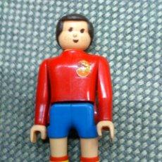Airgam Boys: AFJ.AIRGAMBOYS,AIRGAM BOYS FUTBOL,JUGADOR Nº9 SELECCION ESPAÑOLA. ESPAÑA. ORIGINAL AÑOS 80. Lote 40965492