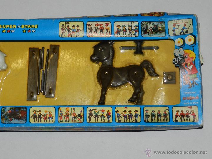 Airgam Boys: (M) AIRGAM BOYS REF 00012 2 CABALLOS , SUPER STAR , BUEN ESTADO , PEQUEÑAS ROTURITAS EN CAJA - Foto 3 - 42247356